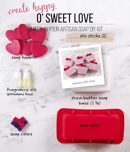 O' Sweet Love Soap Making Kit