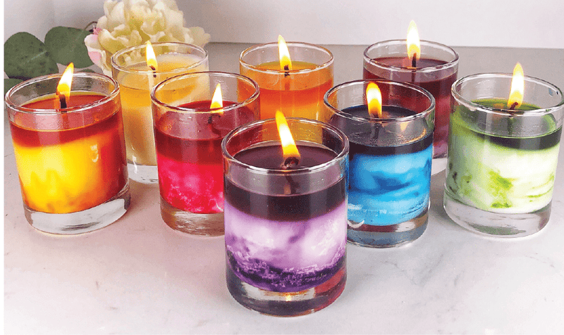 Over the Rainbow DIY Candle Kit (set of eight)