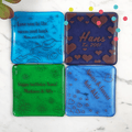 Personalized Fused Glass Coasters