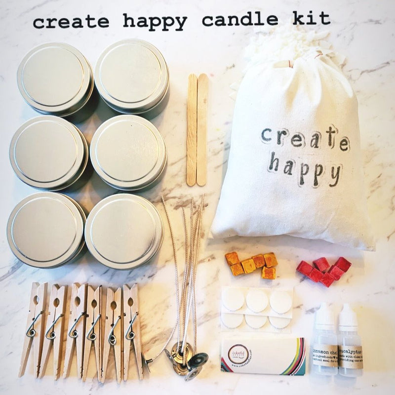 Silver Flame Candle Making Kit