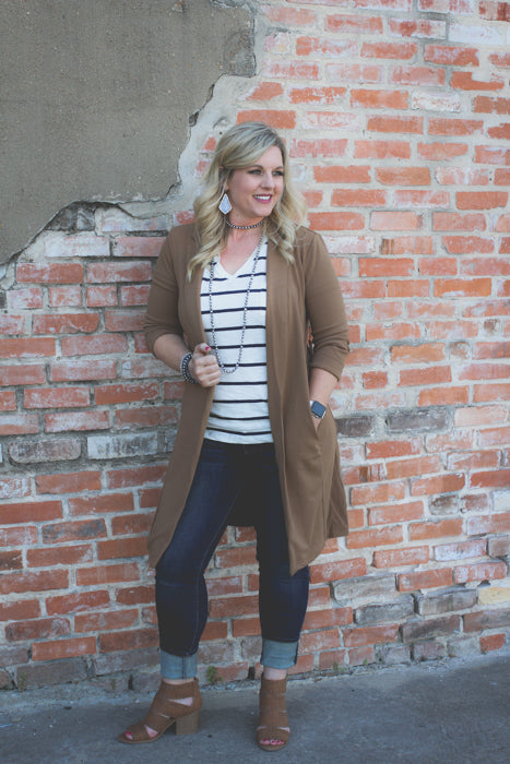 Grace Long Blazer - Rebel Roots Boutique
