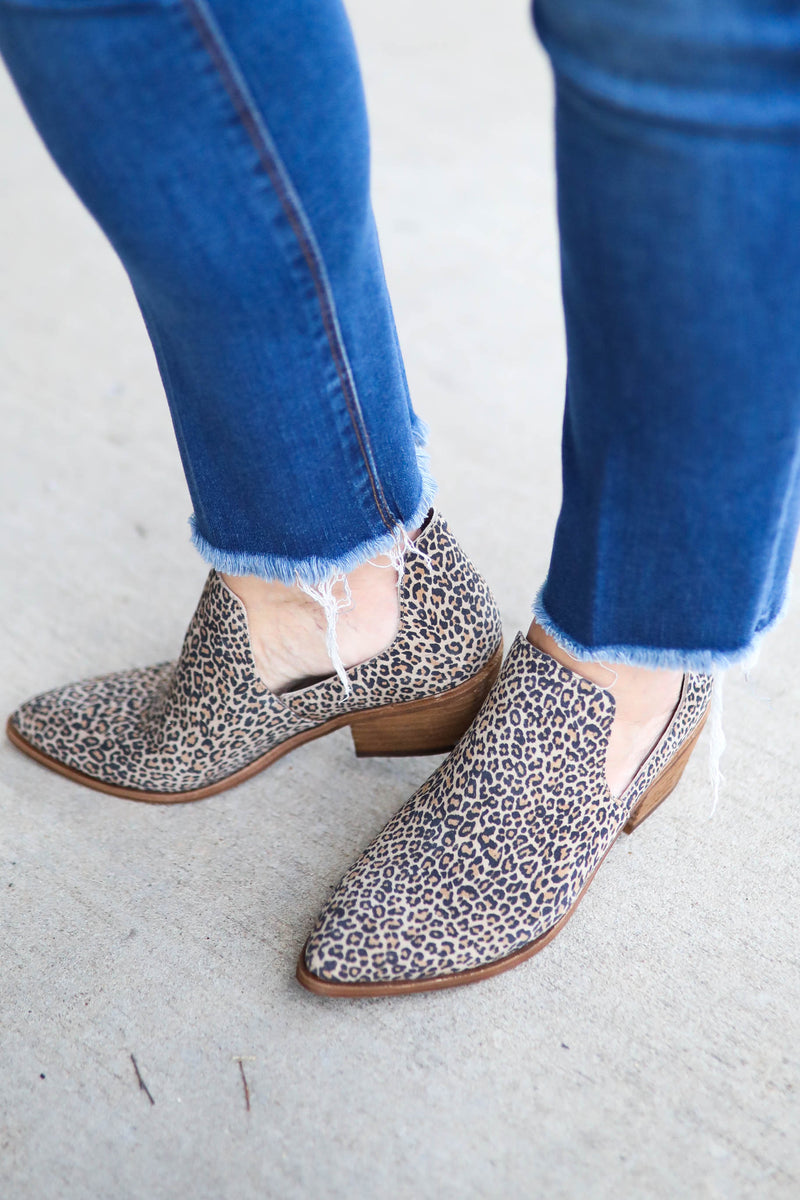 Chinese Laundry Focus Leopard Booties,Shoes - Bootie