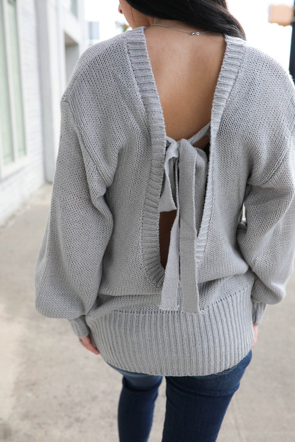 Packaged Perfectly Bow Detail Sweater