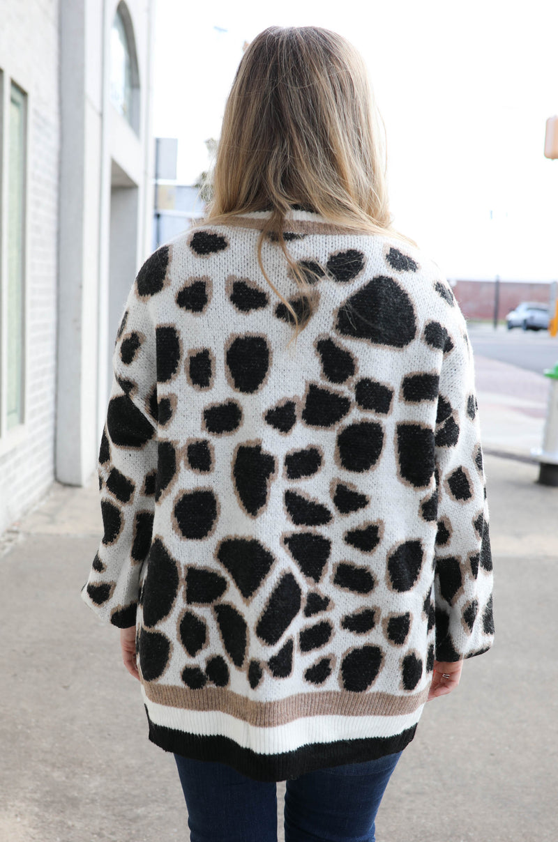 Be Different Leopard Cardigan