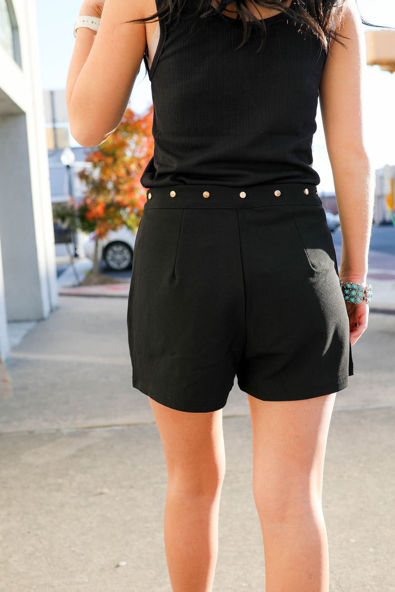 Desperado Studded Shorts