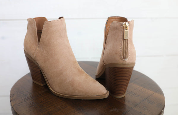 Made For You Suede Bootie
