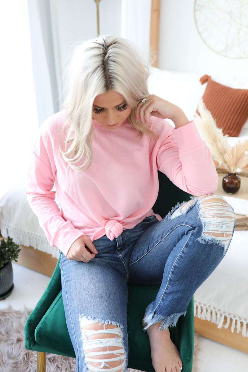Brunch Time Casual Pullover