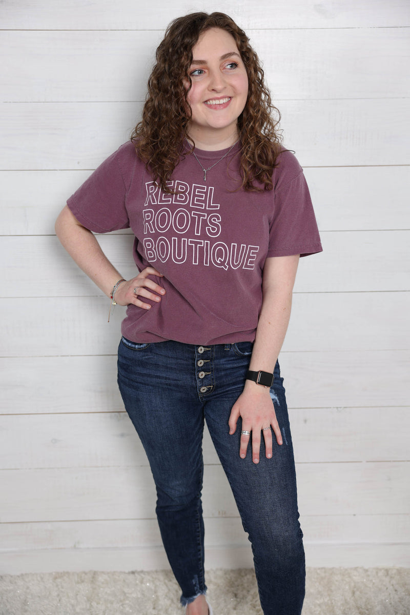 Rebel Roots Boutique Comfort Color Tee