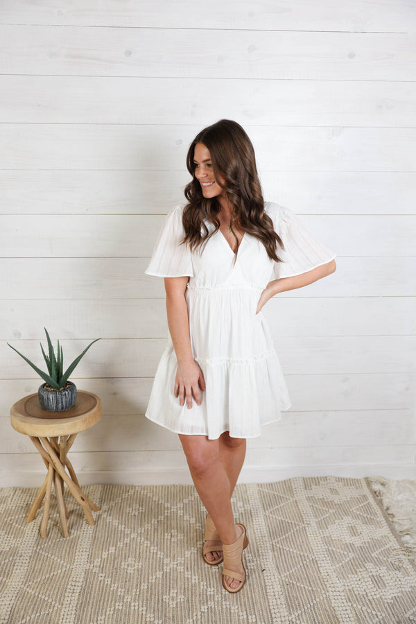 Lead The Way Tiered Dress