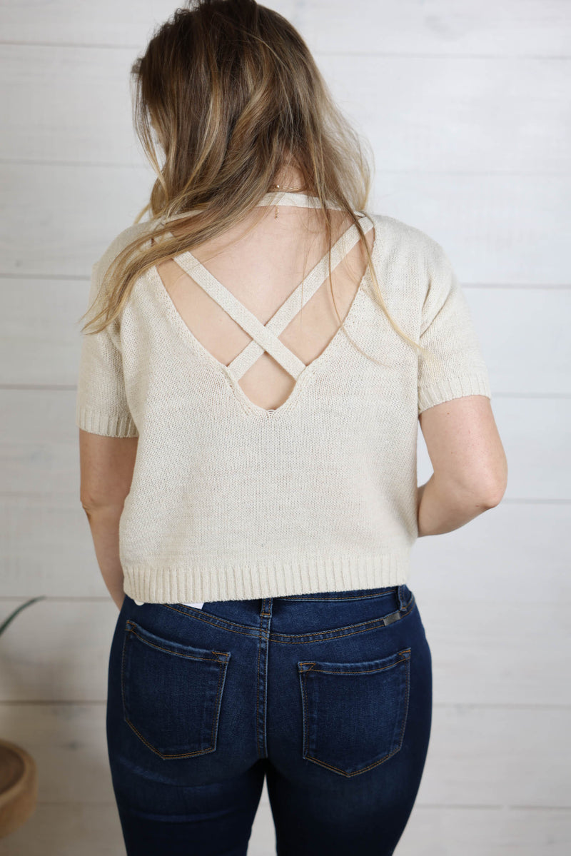 New Beginnings Knit Top
