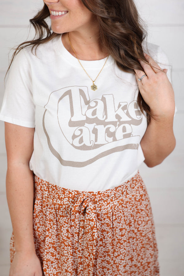 Take Care Graphic Tee