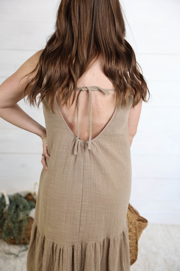 Holding On Midi Dress