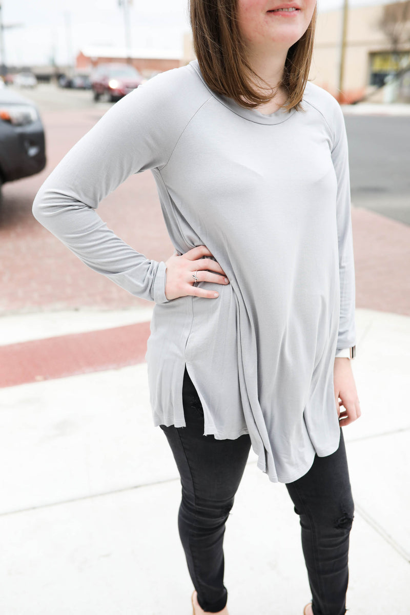 Perfect Opportunity Bamboo LS Knit Top
