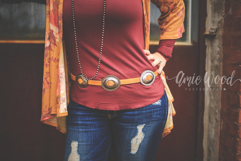 Concho Belt - Rebel Roots Boutique