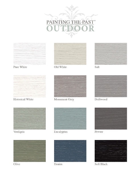 Outdoor-Farbe - Monument Grey 1ltr. - Painting the Past - Lieblingshaus