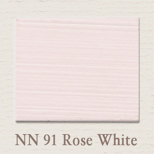 NN 91 Rose White - Painting the Past - Online Shop