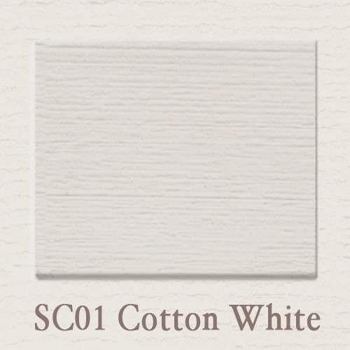 SC 01 Cotton White - Painting the Past - Online Shop