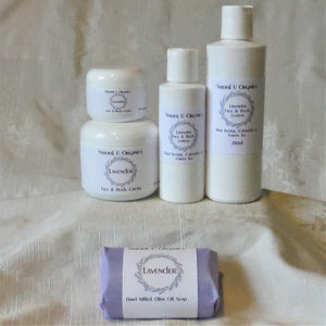 Lavender Face and body cream