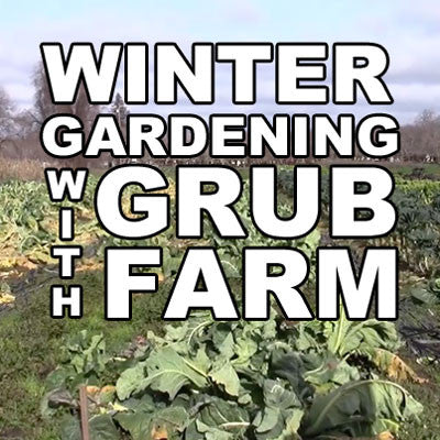 Winter Gardening with GRUB Farm