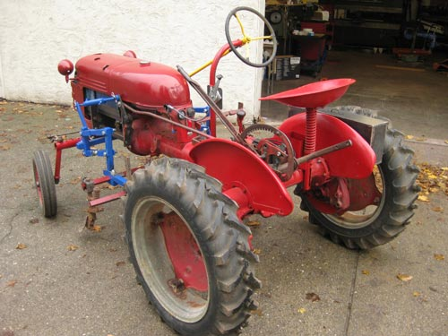 Electric Farmall Cub