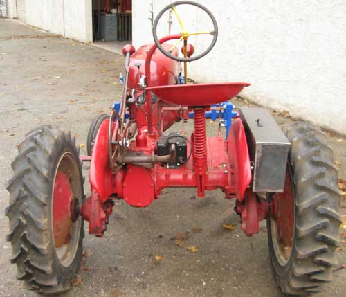 Electric Farmall Cub (rear)