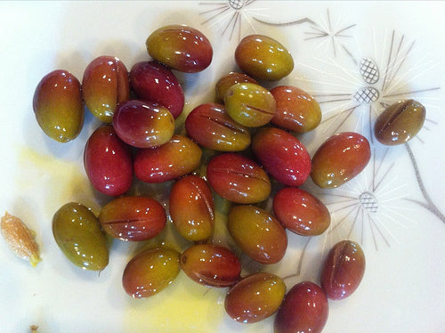 olives ready to eat after curing