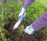 Hori Hori Garden Knife digs and cuts weeds