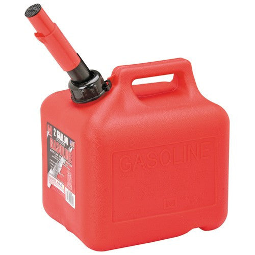 GASOLIINE RED CONTAINER 2GAL - 6PC
