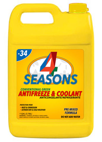 4 SEASONS | ANTIFREEZE & COOLANT GREEN 1GAL - 6PC