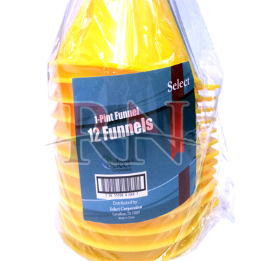Yellow Plastic Funnel Wholesale