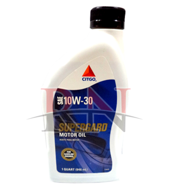 Citgo 10W30 Supergard Motor Oil Wholesale Bulk