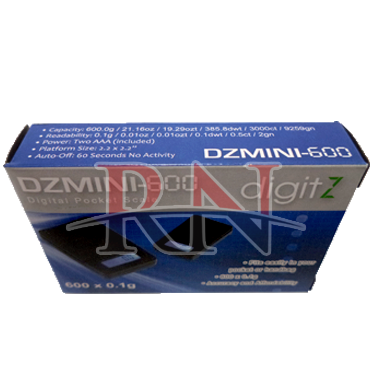 digitZ DZMINI-600 Digital Pocket Scale Wholesale