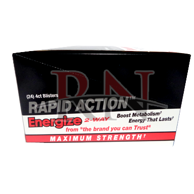 Rapid Action Energize 2-Way Blister Packs Wholesale