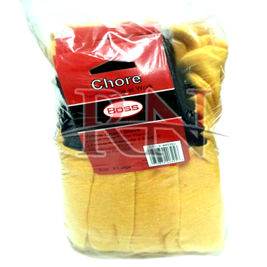 Yellow Chore Gloves Wholesale