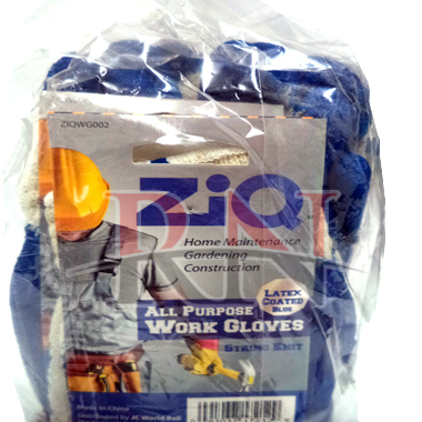 ZIQ All Purpose Work Gloves Blue Wholesale