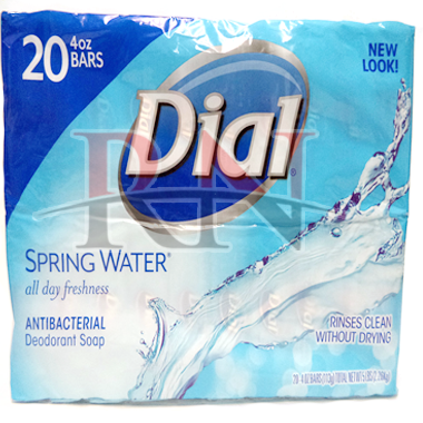 Wholesale Dial Spring Water 20CT Soap Bars