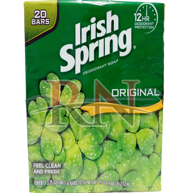 Wholesale Irish Spring Soap Bar 20CT