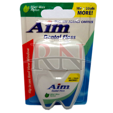Wholesale Aim Dental Floss Mint 100YD