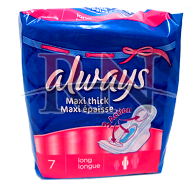Always Maxi Think Pads Wholesale