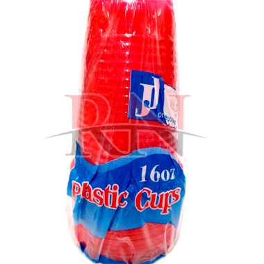 Red Plastic Cups Wholesale 16oz