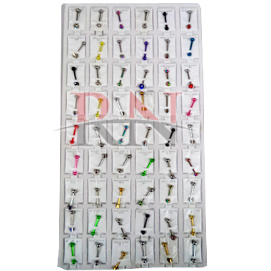 Wholesale Piercing Rings 54PC