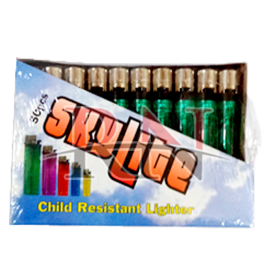 Wholesale Clear Lighters