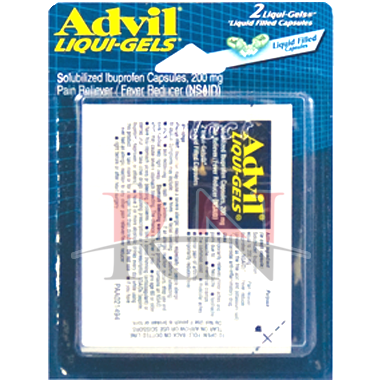 Advil Liqui Gels Blister Pack Wholesale
