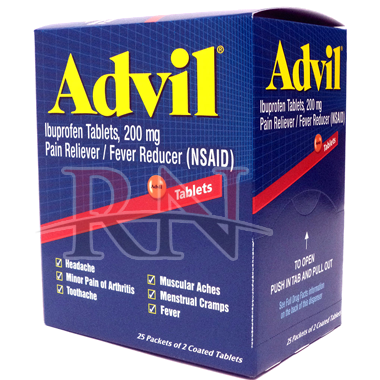 Wholesale Advil Dispenser 25PK