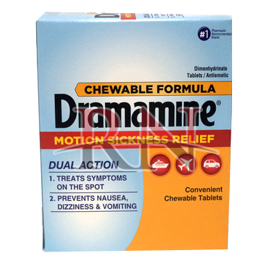 Dramamine Motion Sickness Dispenser Wholesale