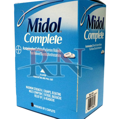 Midol Complete Dispenser Wholesale