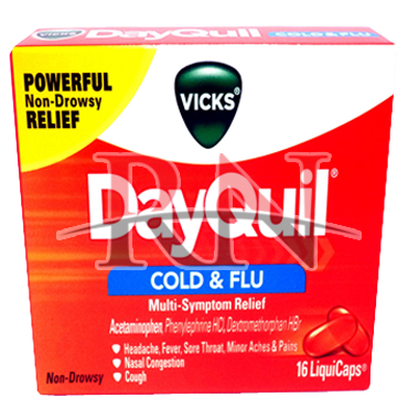 Dayquil Cold & Flu 16CT Wholesale