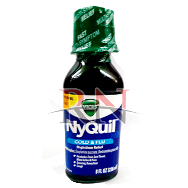 Nyquil Cold & Flu 8oz Wholesale