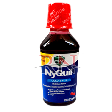 Nyquil Cough Cherry 12oz Wholesale