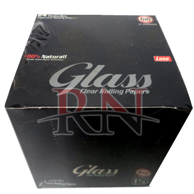 Glass Clear Rolling Papers 1 1/4 Size Wholesale